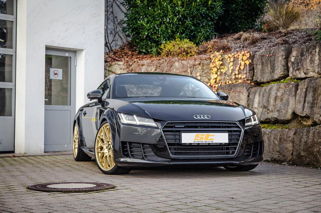 low_Audi_TT_8J_ST_XTA_Gewindefahrwerk_Frontansicht