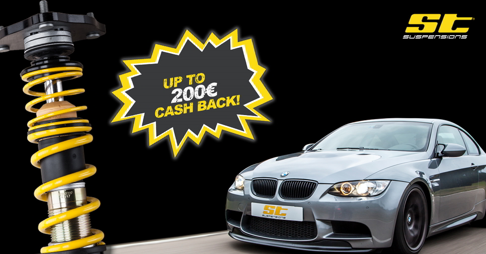 ST Cash Back action! Save up to €200!